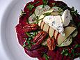 Composed beet salad